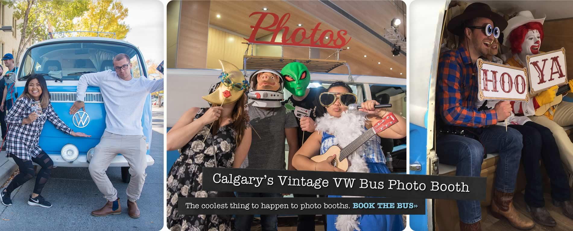 Calgary's Vintage VW Bus Photo Booth