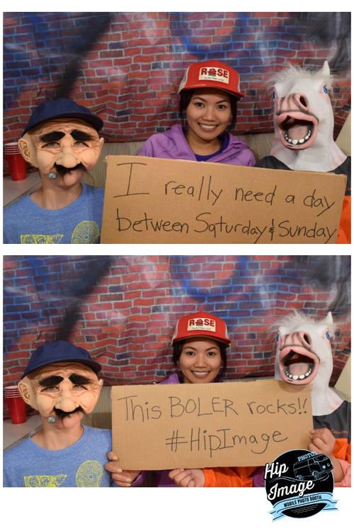 Fun in the Calgary Photo Booth